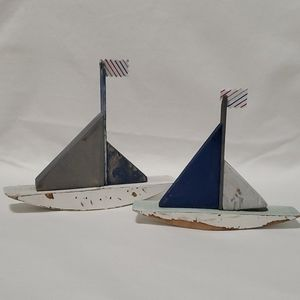 Scrap Wood Boat Decorations